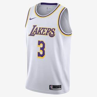 Nike NBA Swingman Jersey Anthony Davis Lakers Association Edition