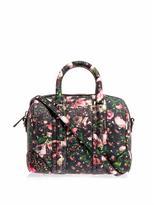 Givenchy Lucrezia mini rose camouflage leather tote