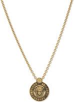 Versace Logo Pendant Necklace