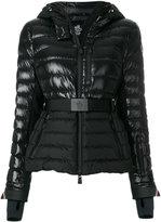 Moncler belted puffer jacket