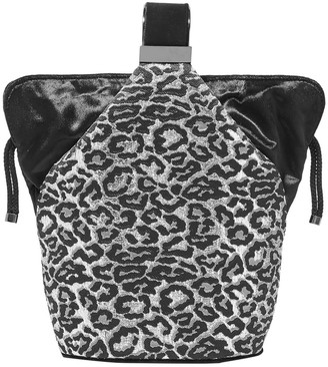 BIENEN-DAVIS Bienen Davis Kit Mini Velvet-trimmed Metallic Brocade Bucket Bag