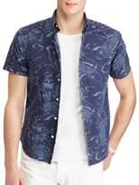 Lauren Ralph Lauren Slim-Fit Printed Button-Down Shirt