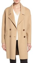 Diane von Furstenberg Double Face Double Breasted Walking Coat
