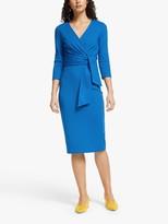 Boden Sophie Ponte Dress, Bold Blue