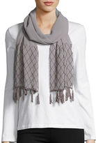 Cejon Beaded Tassel Wrap Scarf
