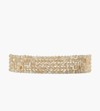 Chan Luu Mother Of Pearl Naked Wrap Bracelet
