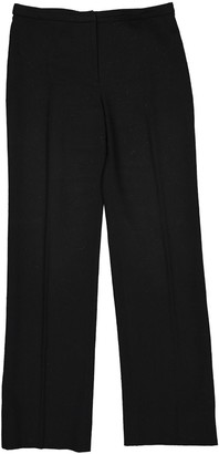 Gianni Versace Black Wool Trousers for Women Vintage