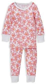 Aden Anais aden + anais aden + anais Baby Girl's Flowers 2-Piece Cotton Pajama Set