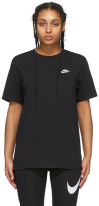 Nike Black NSW Club T-Shirt