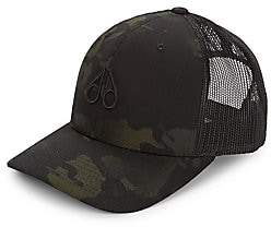 Moose Knuckles Men's Camo & Mesh Trucker Baseball Cap