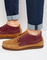 Sperry Wedge Suede Boat Boots