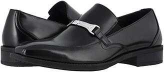 Stacy Adams Adrian Bike Toe Slip-On (Black) Men's Shoes