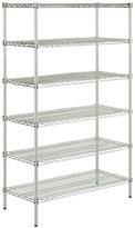 Chrome Corner Shelf Unit