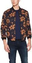New Look Men's Smart Printed Bomber Jacket