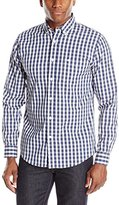 Dockers Comfort Stretch Long Sleeve Gingham Check Shirt