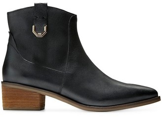 Cole Haan Maci Leather Western Boots