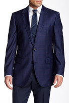 HUGO BOSS James Two Button Notch Lapel Wool Jacket