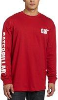 Caterpillar Men's Trademark Banner L/S T-Shirt