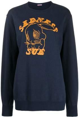 Undercover 'Sadness Sue' print sweatshirt