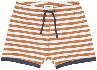 Caramel Belgravia stretch-cotton shorts