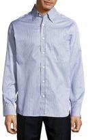 Brioni Regular-Fit Multistriped Cotton Dress Shirt