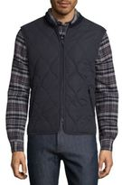 A.P.C. Bern Quilted Vest