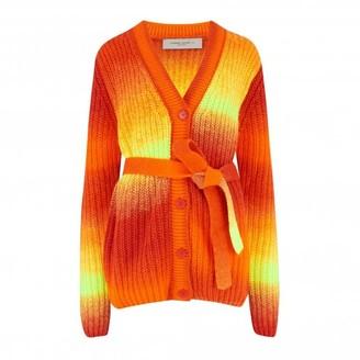 Golden Goose Orange Tiger Degrade Anavera Cardigan - S - Orange/Orange