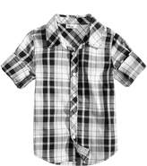 Epic Threads Plaid Cotton Shirt, Toddler Boys, Created for Macy's