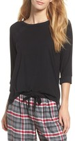 DKNY Women's Three Quarter Sleeve Top
