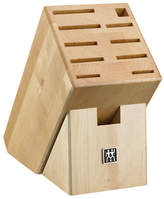 Zwilling J.A. Henckels 11 Slot Natural Wood Knife Storage Block