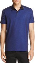 BOSS Piket Pique Tipped Regular Fit Polo Shirt - 100% Exclusive