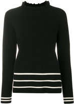 Chinti and Parker striped knitted sweater