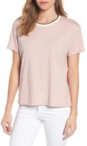 Velvet by Graham & Spencer Women's Ringer Tee