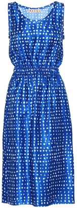 Marni Polka-dot satin dress
