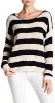 ATM Anthony Thomas Melillo Stripe Wool, Cashmere & Silk Sweater