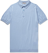 John Smedley - Sea Island Cotton Polo Shirt