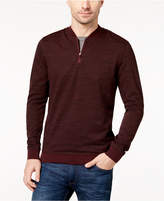 Vince Camuto Men's Quarter-Zip Sweatshirt