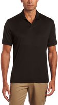 Perry Ellis Men's Short Sleeve Cotton Blend Open Polo