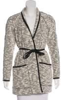 Rebecca Taylor Knit Sash Tie Jacket