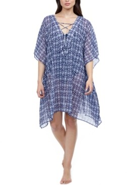 Gottex Nomad V-Neck Cover-Up Dress Women's Swimsuit