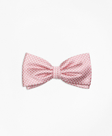 Brooks Brothers Mini Houndstooth Pre-Tied Bow Tie
