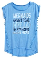 C&C California Girl's Mermaid Graphic Tee