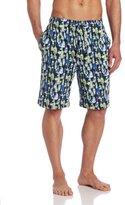 Nautica Men's Knit Bouy Print Short