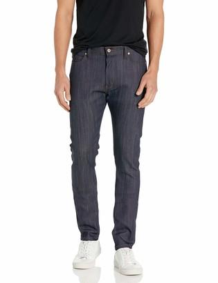 Naked & Famous Denim Men's Stackedguy Indigo Power-Stretch Jeans 28