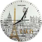 Marie Claire I love Paris Glass Clock 30cm