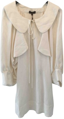 Loewe Ecru Silk Dresses