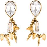 Assad Mounser Crystal Drop Earrings