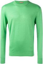 Cruciani ribbed trim jumper - men - Silk/Cashmere - 50