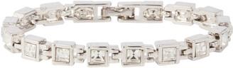 Susan Caplan Vintage 1980s Vintage D Orlan Swarovski Crystal Bracelet