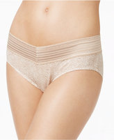 Warner's No Pinches No Problems Cotton Lace Hipster RU1091P